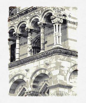 Italian Marble - Pisa by Michael Flood