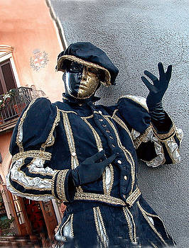 Italian Mime by Bill Marder