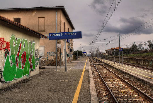 Italian Small Station by Leonardo Marangi