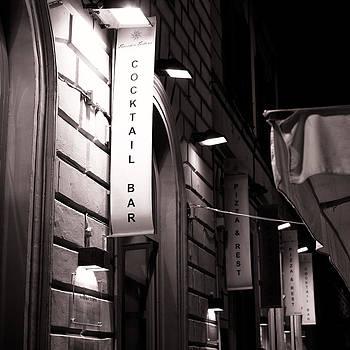 Italian Street Restaurant by Brad Brizek
