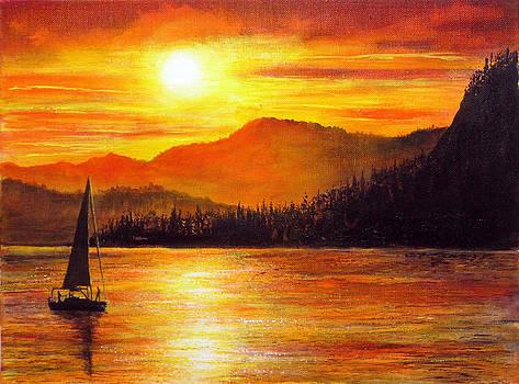 Italian Sunset by Ann Marie Bone