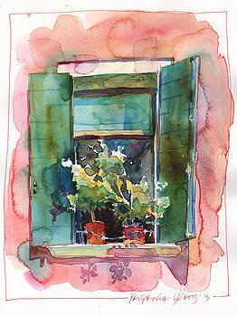 Italian Window 2 by Yevgenia Watts