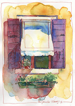 Italian Window 4 by Yevgenia Watts