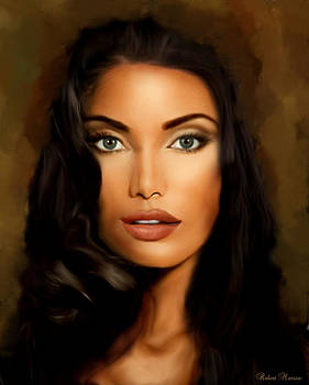Italian Woman by Robert Matson