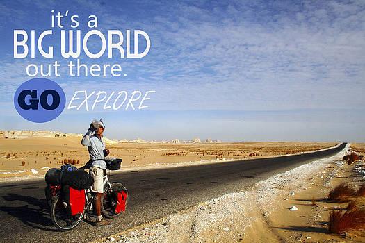 It's a Big World. by Amaya Williams