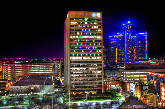 It's Christmas Time In The D... by A And N Art