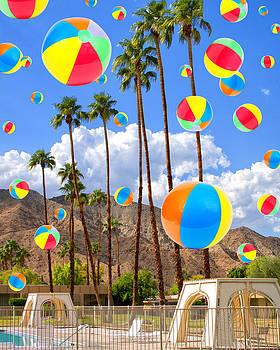 William Dey - ITS RAINING BEACH BALLS Palm Springs