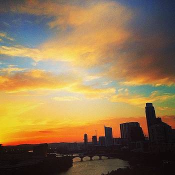 It's Summer Sunset Season.  follow by Things To Do In Austin Texas