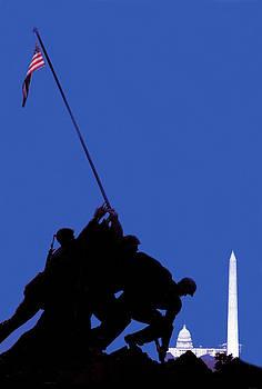 Joe Connors - Iwo Jima in present contrast