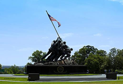 Jonathan  E Whichard - Iwo Jima Memorial Arlington Virginia