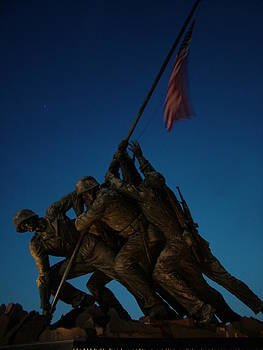 Iwo Jima Memorial by Geoffrey McLean