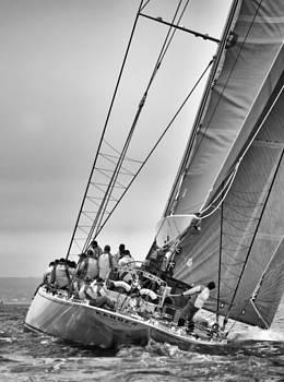 Ian Cocklin - J Class Racing Yacht Valsheda