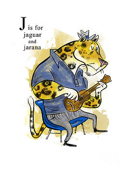 J is for Jaguar by Sean Hagan