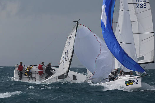Steven Lapkin - J70 Downwind Key West
