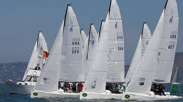 Steven Lapkin - J70 Start Big Boat Series