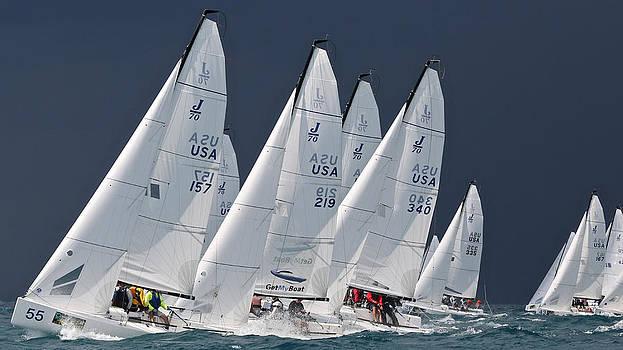 Steven Lapkin - J70 Upwind Key West