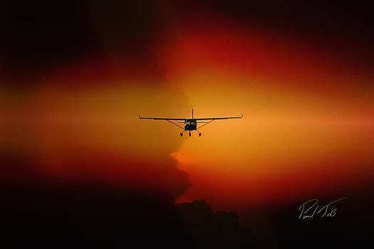 Jabiru sunset by Paul Job