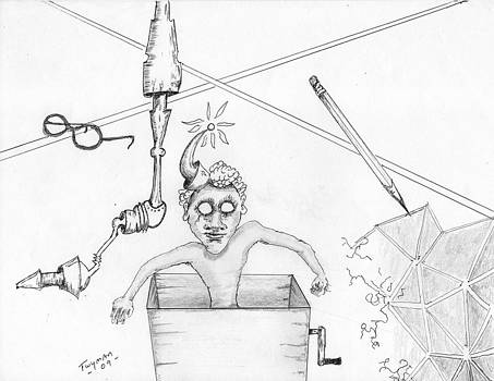 Jack dans la boite by Dan Twyman