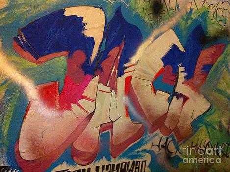 'JACK'  Indoor Graffiti by Michelle Deyna-Hayward