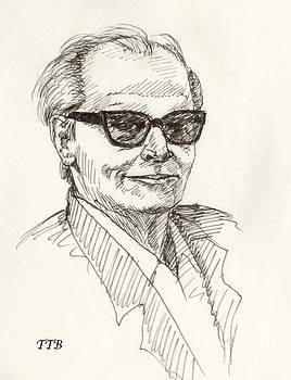 Art By - Ti   Tolpo Bader - Jack Nicholson