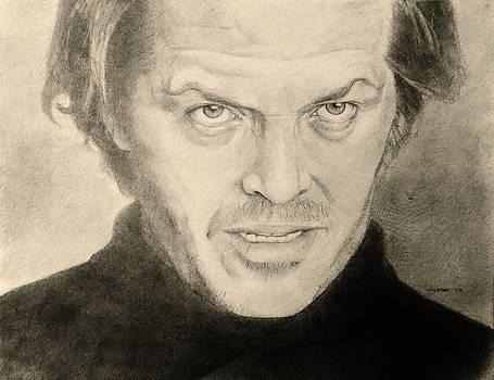 Jack Nicholson by Glenn Daniels