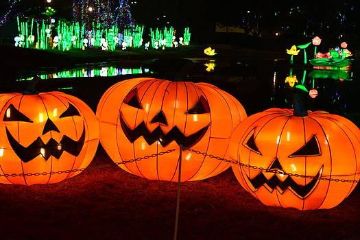 Jack O'lanterns by Jim Martin