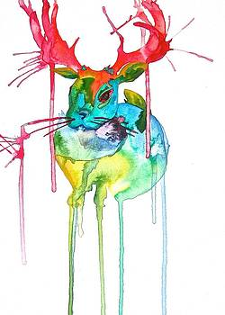 Jackalope by Lucy Loo Wales