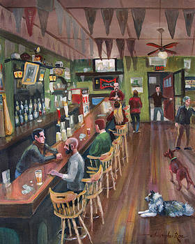 SOLD-Jack's Bar by Christopher Roe