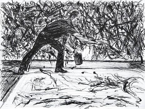 Jackson Pollock by Michael Morgan