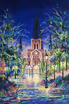 Jackson Square Fantasy by Elaine Adel Cummins