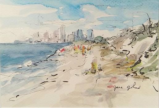 Jacksonville Beach by Jane Johnson