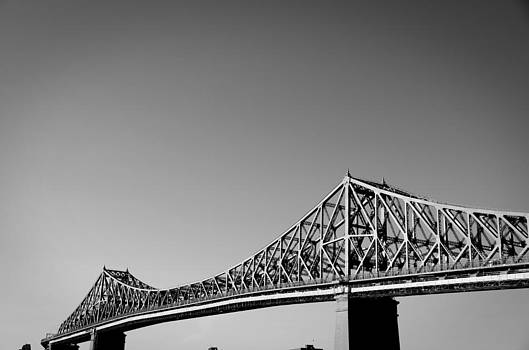 Jacques Cartier Bridge Montreal Metro 1 by Eric Soucy