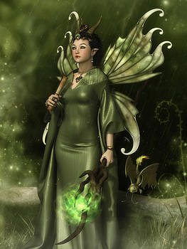 Jade Faery Queen by Rachel Dudley