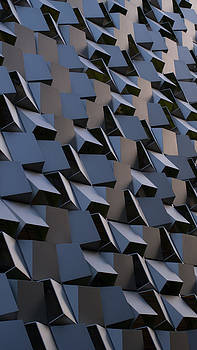Jagged Cube Building by Ayse Thornett