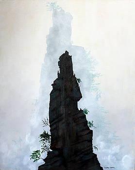 Jagged Peaks by Robert Crooker