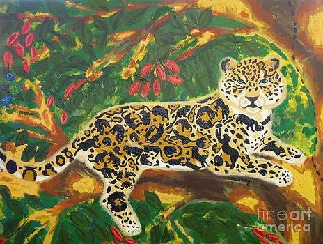 Jaguars in a Jaguar by Cassandra Buckley