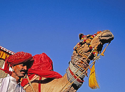 Dennis Cox - Jaisalmer camel man