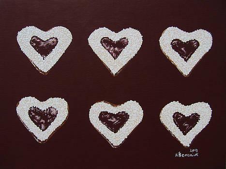 Jam-filled Cookies by Kayleigh Semeniuk