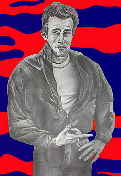 James Dean by Dennis Nadeau