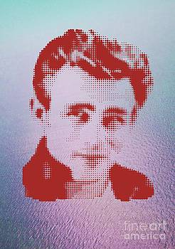 James Dean On Red Water by Rodolfo Vicente