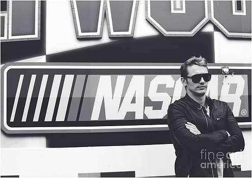 James Franco Daytona 500 by Shanna Vincent