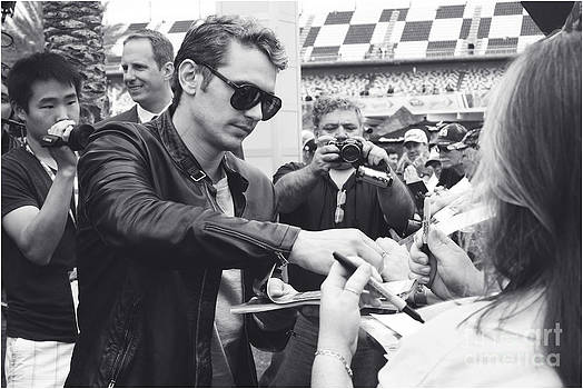 James Franco Daytona Fans by Shanna Vincent