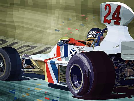 James Hunt 1975 Hesketh 308B by Yuriy Shevchuk