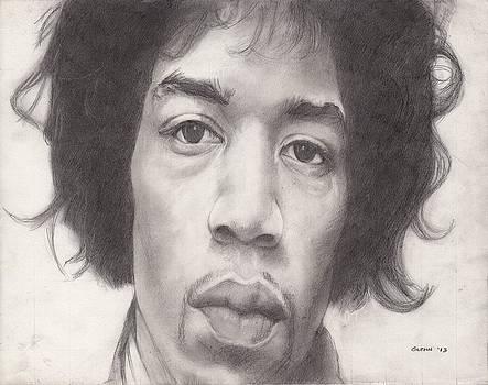 James Marshall Hendrix by Glenn Daniels