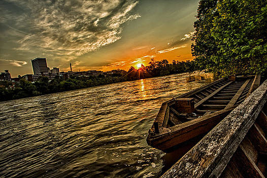 James River Batteau by Mark East