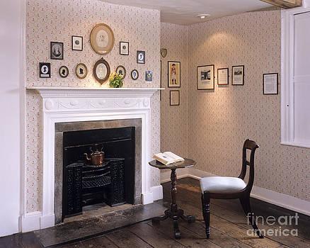 Jane Austen's writing table by Derek Croucher