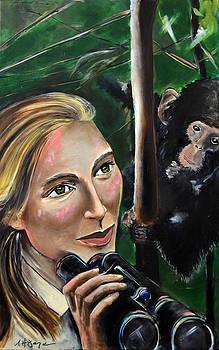 Jane Goodall by Nancy Hilliard Joyce