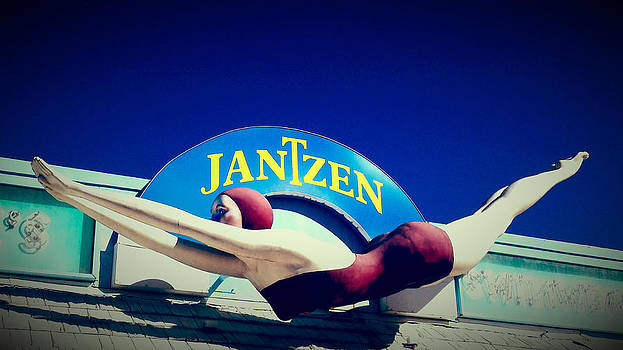 Jantzen Girl by Gail Lawnicki