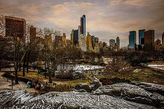 January At Central Park South by Chris Lord