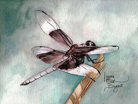 January Dragonfly by Lynne Hurd Bryant